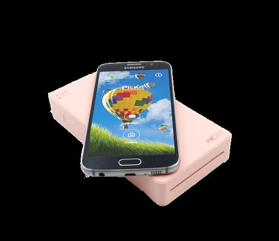 صورة طابعة  بيكيت المحمولة  (باللون الزهري)