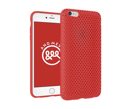 sports shoes 76809 792df Brilliant Store. Product Reviews. AND MESH CASE FOR IPHONE 6s/6 (Red ...