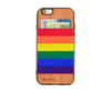 Picture of JimmyCase IPHONE 6/6S WALLET CASE (Rainbow Color)