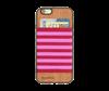 صورة غطاء من الخشب الطبيعي  (بالألوان الأحمر و الوردي)
