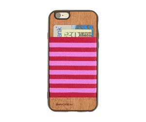 Picture of JimmyCase IPHONE 6/6S WALLET CASE (Red/Pink Color)