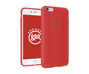 Picture of AND MESH CASE FOR IPHONE 7 (Red color )