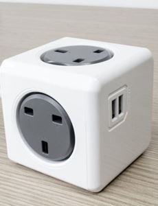 Picture of Power Cube Original USB UK (Grey color )