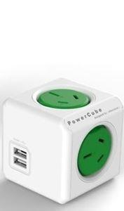 Picture of PowerCube Original USB UK (Green color )