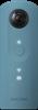 صورة كاميرا ريكو ثيتا 360-SC  متوافقة مع الأندرويد و الأيفون (باللون الأزرق)
